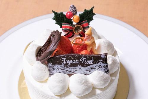 un gâteau de Noël Japonais