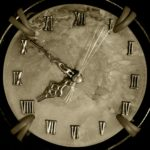 une horloge pour illustrer le temps qui passe